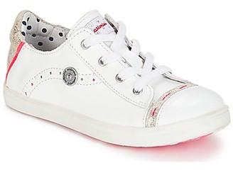 Catimini PANDA girls's Shoes (Trainers) in White