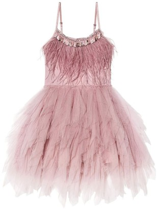 Tutu Du Monde Swan Queen Tutu Dress (2-14 Years)