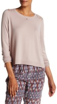 Joie Matrika Back Lace Sweater