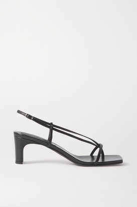 BEVZA Leather Sandals - Black