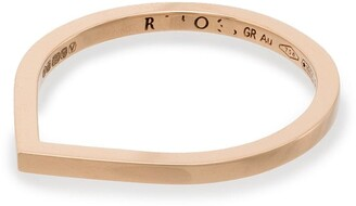 Repossi 18kt Rose Gold Thin Band Ring