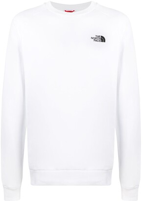 The North Face Raglan Redbox cotton sweatshirt