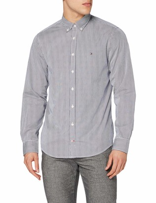 Tommy Hilfiger Men's Core Stripe Shirt Casual