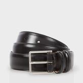 Paul Smith Men's Classic Black Leather Suit Belt