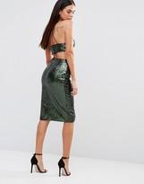 Rare Sequin Midi Skirt