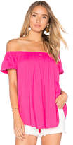 Susana Monaco Larina Top in Pink. - size M (also in S,XS)