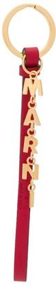 Marni Hanging Logo Keychain