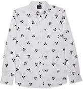 JEM Men's Mickey Mouse Long Sleeve Shirt