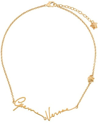 Versace GV signature necklace