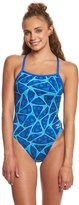 Speedo Endurance+ Women's Caged Out Flyback One Piece Swimsuit 8155644