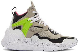 McQ Grey Sodai High-Top Sneakers