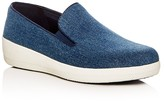 FitFlop Superskate Denim Platform Loafers