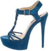Rachel Zoe T-Strap Platform Sandals