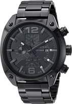 Diesel Overflow DZ4223 Men's Wrist Watches, Black Dial