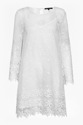 French Connection Posy Lace Bell Sleeve Dress