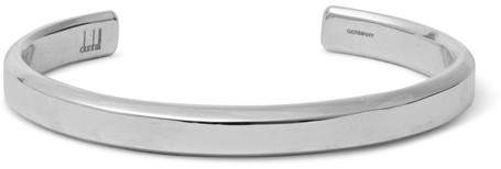Dunhill Rhodium-Plated Silver-Tone Cuff