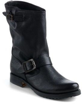 Frye Veronica Leather Shortie Boots