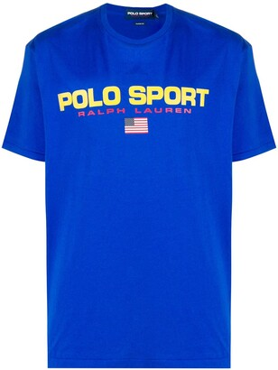 Polo Ralph Lauren Sport logo print T-shirt