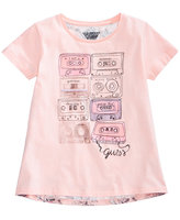 GUESS Cassette-Print T-Shirt, Big Girls (7-16)