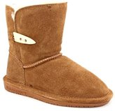 BearPaw Abigail Shearling Boot (Toddler/Little Kid/Big Kid),Youth 5.0 B(M) US,Hickory.Hickory