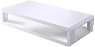 "Artiva USA CASA 48"" Modern Euro White lacquered High Gloss Coffee Table"
