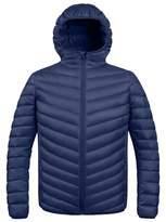 ZSHOW Men's Winter Hooded Packable Down Jacket