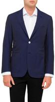 Canali Seersucker Half Lined Jacket