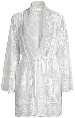Jonquil Collette Lace Wrap Robe