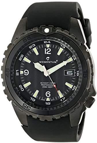 Momentum Men's 1M-DV68B4B D6 Night Vision Stainless Steel Watch