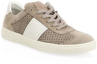 Bruno Magli Dario Lace-Up Suede Sneakers