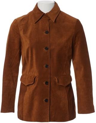 Frame Camel Suede Jacket for Women