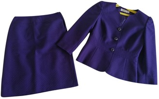 Elie Tahari Purple Jacket for Women