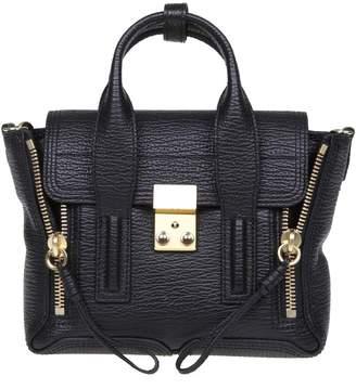 3.1 Phillip Lim Phillip Lim Mini Pashli Leather Bag In Black Leather