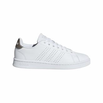 adidas Women's Advantage Athletic Shoes Footwear White/Footwear White/Grey 6 Regular US