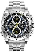 Bulova Stainless Steel Chronograph Bracelet Watch 96g175