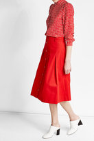Vanessa Seward A-Line Cotton Skirt