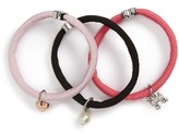 Marc by Marc Jacobs Marc Jacobs Set Of 3 Charm Ponytail Holders