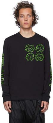 McQ Black Pixel Monsters T-Shirt