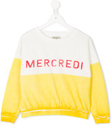 Bobo Choses mecredi print sweatshirt