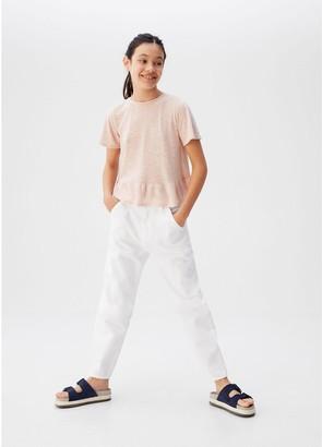 MANGO Teen Girl Jeans - White