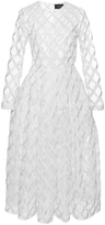 Simone Rocha Embellished Rope Embroidered Dress