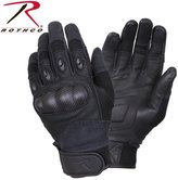 Rothco Carbon Fiber Hard Knuckle Tactical Gloves - , X Large