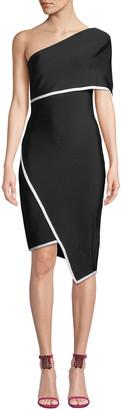 Elliatt Emily One-Shoulder Asymmetric Bandage Dress