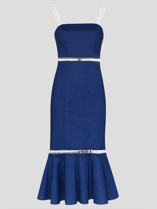 STAUD Lychee Midi Dress