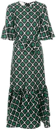 La DoubleJ Curly Swing patterned dress