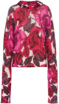 Prada floral jumper