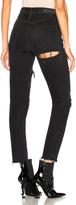 GRLFRND Karolina High Rise Skinny Jean in Black.