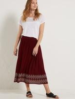 White Stuff Alissa crinkle skirt
