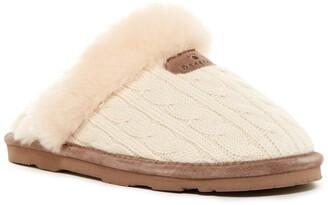 BearPaw Effie Genuine Sheepskin Fur Lined Slipper