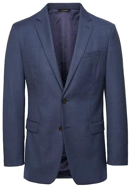 Banana Republic Slim Italian Sharkskin Suit Jacket